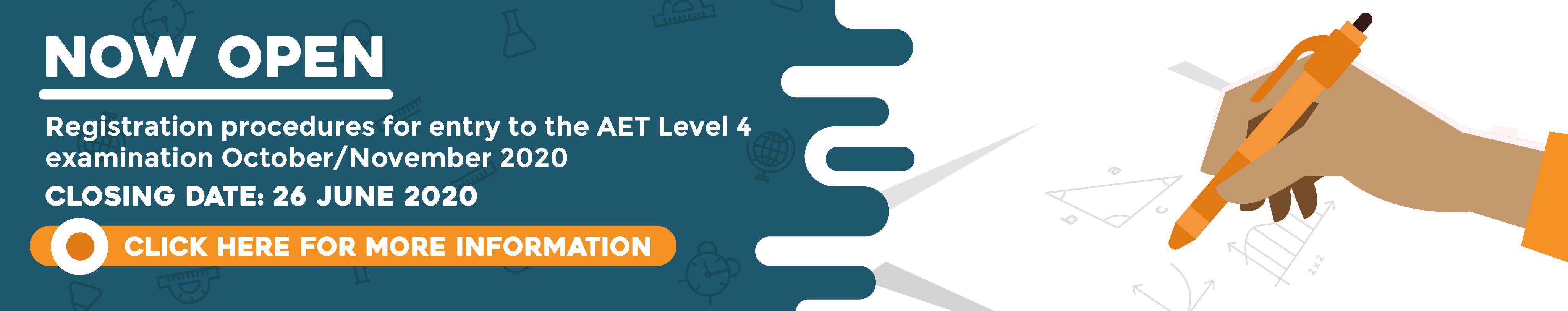 AET level 4 registration